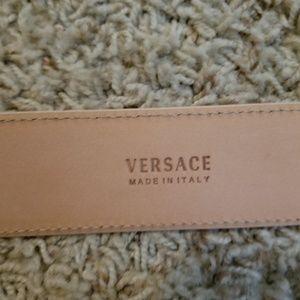 Versace Accessories - GIANNI VERSACE WOMEN BELT PEACH/BABY PINK